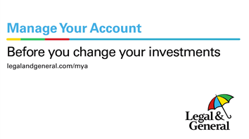 Before you change your investments